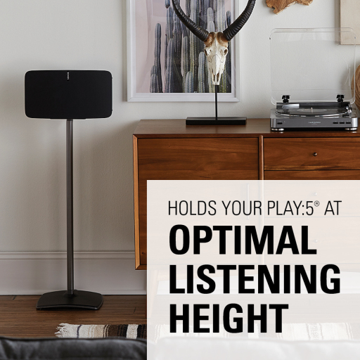 WSS51 Holds your PLAY:5 at optimal listening height