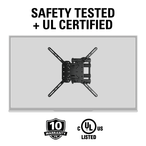 Safety tested and UL certified