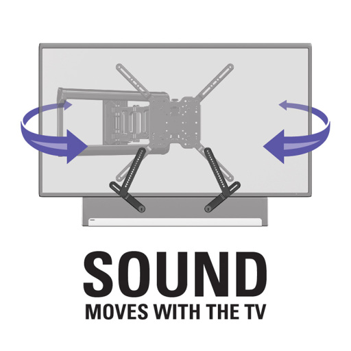 Sound Moves With the TV