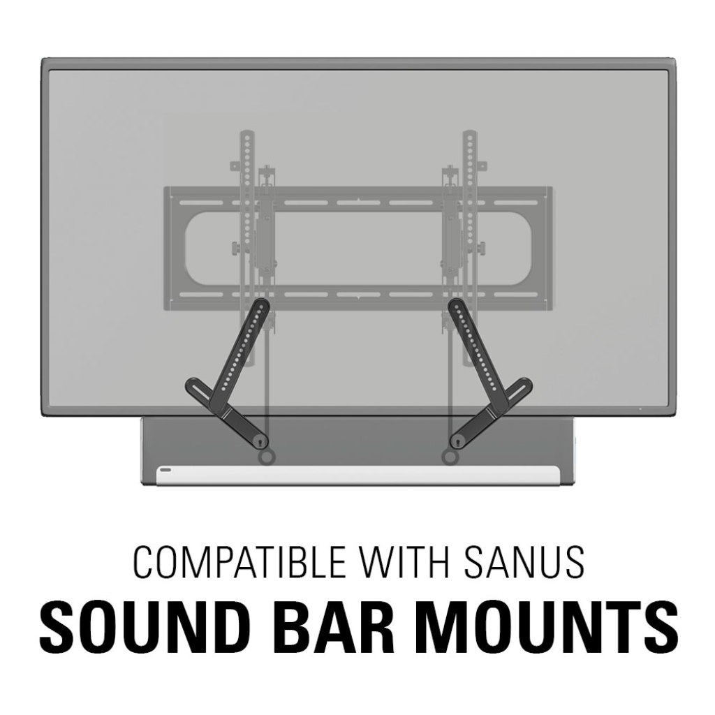 Sanus Advanced Tilt Premium Tv Wall Mount For 46 Quot