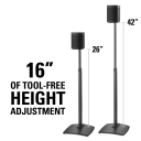 "WSSA1-B1 16"" Height Adjustment"